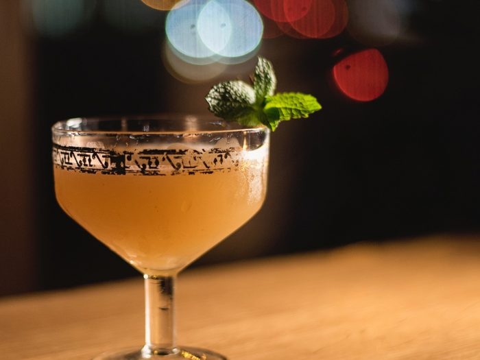 Bee's Elbow gin cocktail recipe from Gompers Distillery
